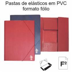 Pastas de elásticos em PVC...
