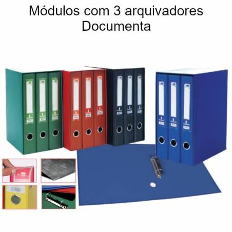 Módulos com 3 arquivadores Documenta