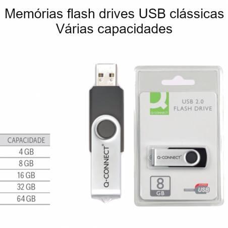 Memórias flash USB clássicas