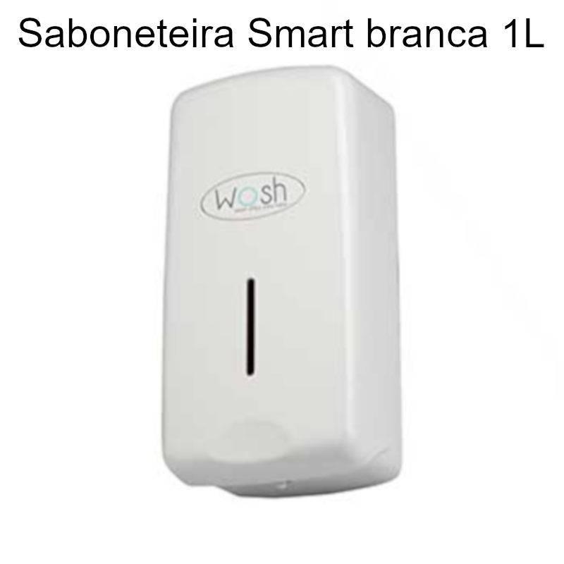 Saboneteira Smart branca 1L