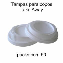 Tampas para copos de papel Take Away