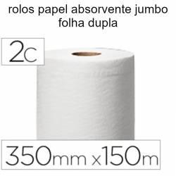 Rolos papel absorvente jumbo