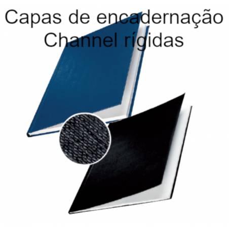 Capas de encadernação Channel opacas rígidas