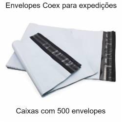 Envelopes plásticos Coex...