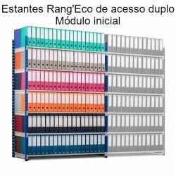 Estantes Rangeco de acesso duplo para escritório (módulo inicial)