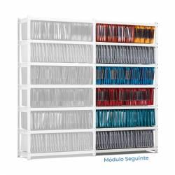 Estantes Rangeco para arquivo suspenso - módulos seguintes