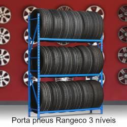 Porta pneus Rangeco de 3 níveis - módulo inicial