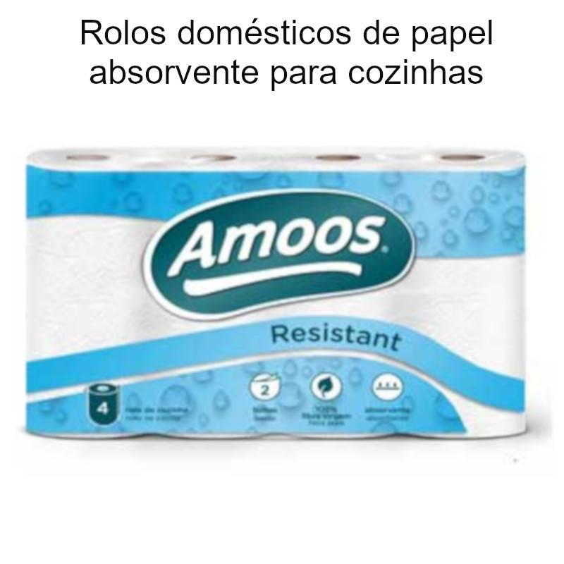 Rolos de papel absorvente para cozinha