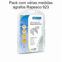 Agrafos Rapesco 923 pack mix