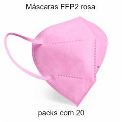 Máscaras FFP2 rosa