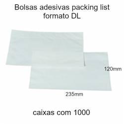 Bolsas adesivas Packing...