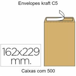 Envelopes kraft C5 em...