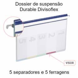 Dossiers suspensos Durable Divisoflex