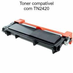 Toner compatível com Brother TN-2420
