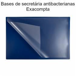 Bases de secretária antibacterianas Exacompta