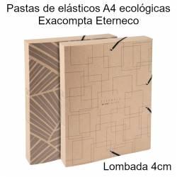 Pastas de projetos A4 ecológicas Exacompta Eterneco
