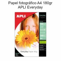 Papel fotográfico A4 APLI...