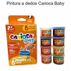 Pintura a dedos Carioca Baby
