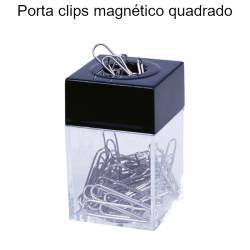 Porta clips magnético quadrado