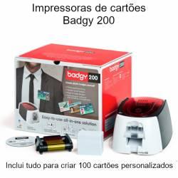 Impressoras de cartões Badgy 200