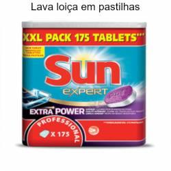 Lava loiça Sun Expert em pastilhas tudo em um