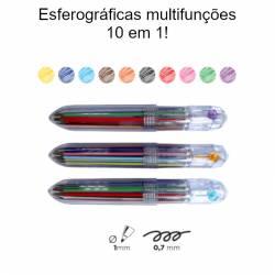 Esferográficas multifunções...