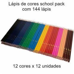 Lápis de cores School Pack...