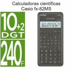 Calculadoras Casio fx-82MS cientificas