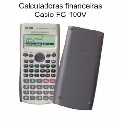 Calculadoras Casio FC-100V financeiras