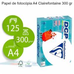 Papel de fotocópia A4 Clairefontaine 300 gr