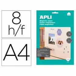 Papel magnético A4 branco