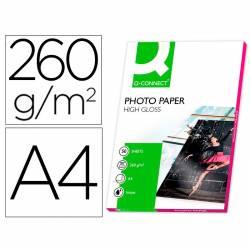 Papel foto glossy A4 de 260...