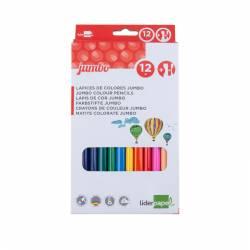 Lápis de cores jumbo -...