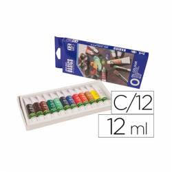 Tintas a óleo - 12 cores...