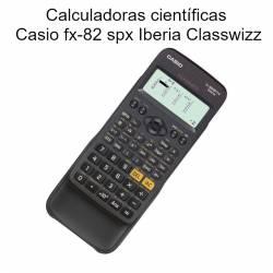 Calculadoras científicas Casio fx-82 spx Iberia Classwizz