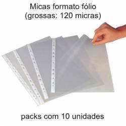 Micas fólio pack com 10