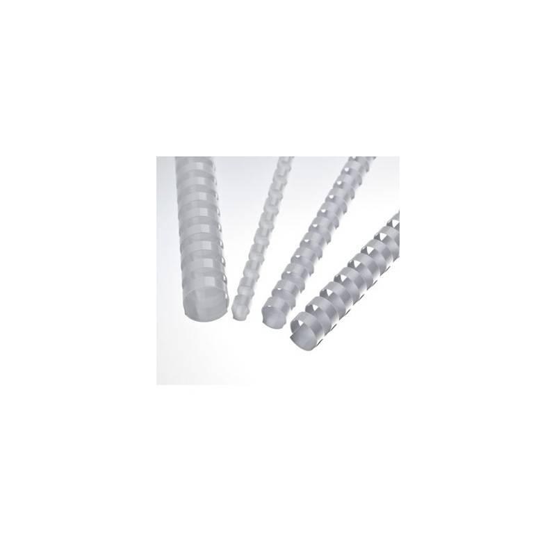 Lombadas plásticas de encadernação brancas